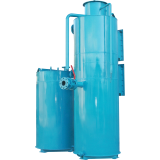 Filters for iron removal and degassing of water