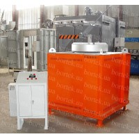 Furnace for melting aluminum САТ-0,2/10 С