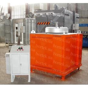 Furnace for melting aluminum САТ-0,2/10 С