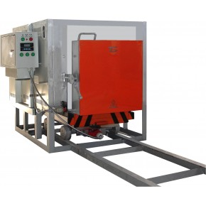 Electric bogie-hearth furnace СДО-4.6.3/11