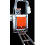 Термическая печь с выкатным подом СДО-5.5.5/12 и вентилятором