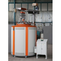 Carburizing furnace for steel СШЦМ