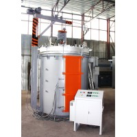 Shaft furnace with protective atmosphere СШЗ-12.15/11 and fan